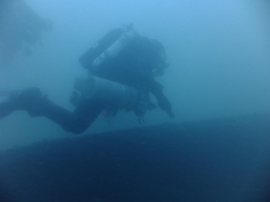 Diving a new wreck
