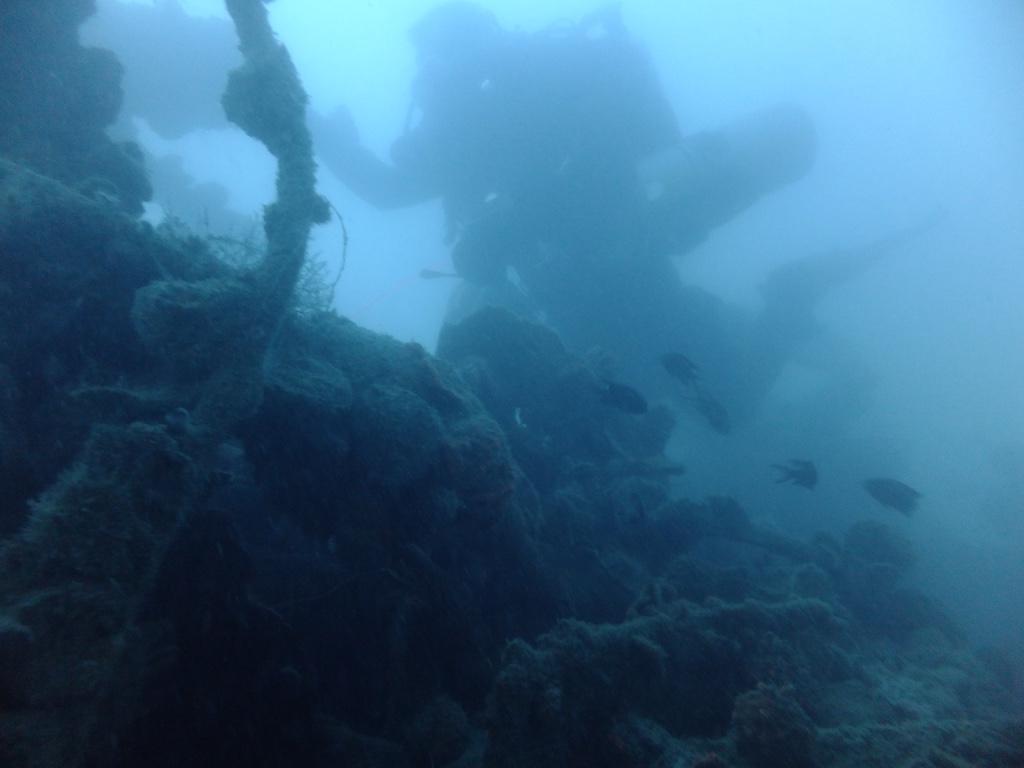 Wreck diving photos